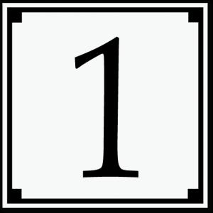 husnummerskilt stilig_15x15cm