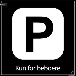 Kun for beboere
