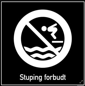 Stuping forbudt