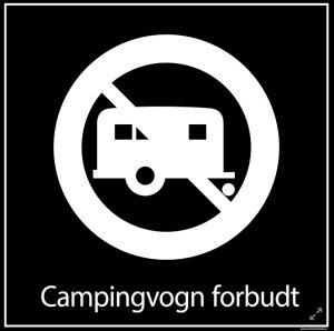 Campingvogn forbudt