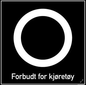 Forbudt For Kjøretøy