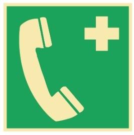 Sikkerhetsskilt | Nødtelefon