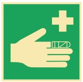 IMO Sikkerhetsskilt | Førstehjelpsutstyr