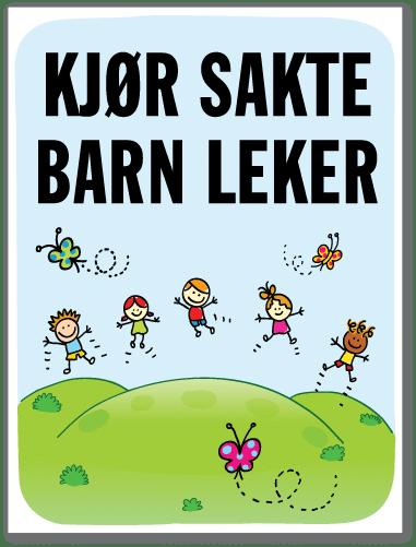 Barn leker skilt med barn som danser på en sommereng sammen med sommerfugler