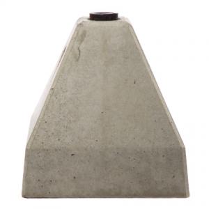 betongfot pyramide