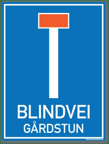 Blindvei gårdstun