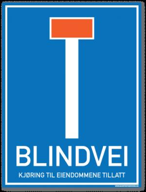 skilt-blindvei-kjøring-til-eiendommene2
