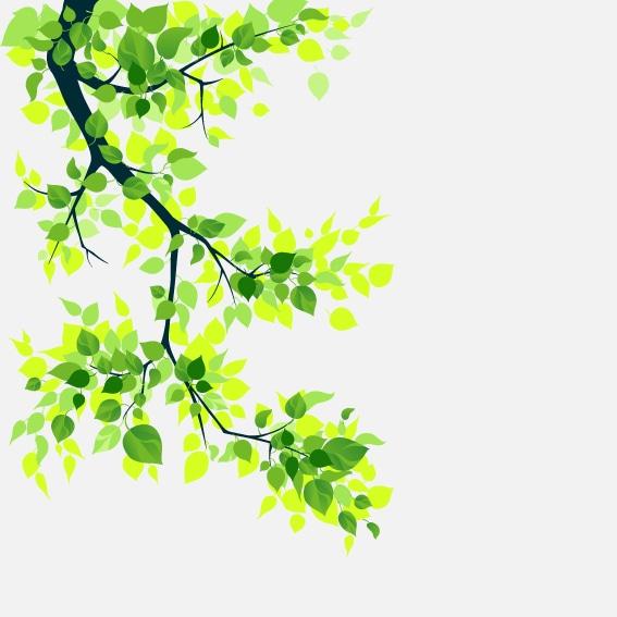Illustrert motiv av et tre på en frostet vindusfolie.