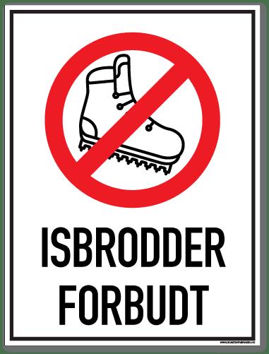 Isbrodder forbudt