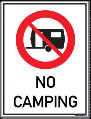 No camping campingvogn