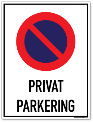 Privat parkering