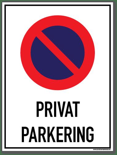 Privat parkering
