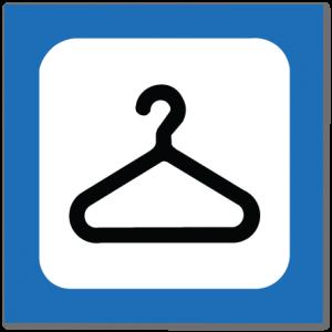 piktogram garderobe