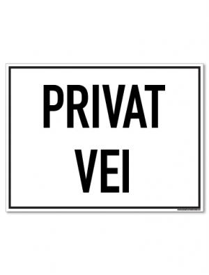 Privat vei