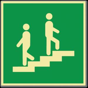 sikkerhetsskilt trapp