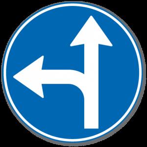 Trafikkskilt Påbudt Kjøreretning 402.7