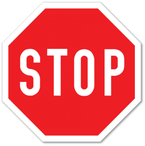 trafikkskilt stopp 204