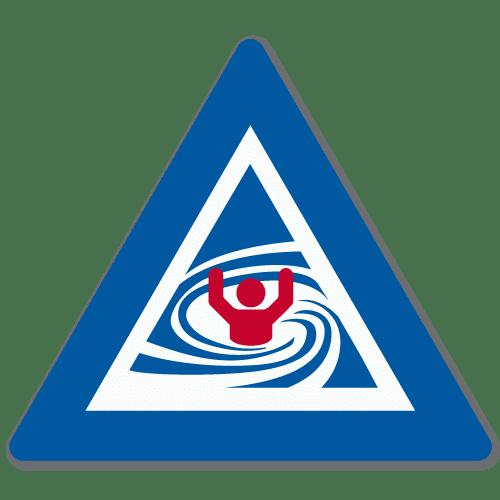 Vassdragsskilt 1-09 NVE Strømhvirvel