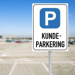 Parkering Tillatt Skilt