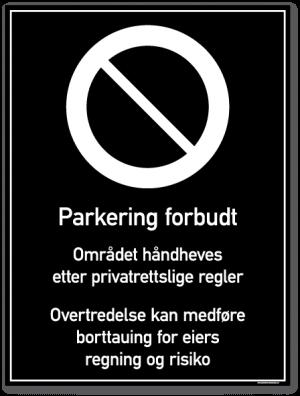 Privatrettslige Skilt