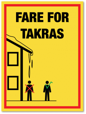 Fare for takras