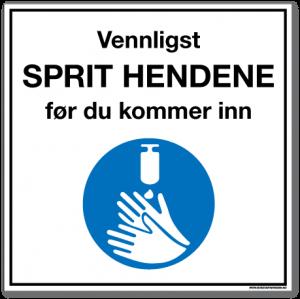 Sprit hendene