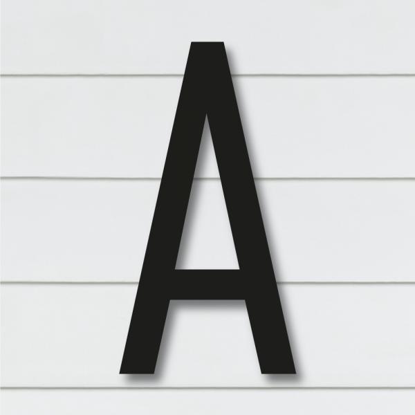 Husnummer bokstaver   Sort