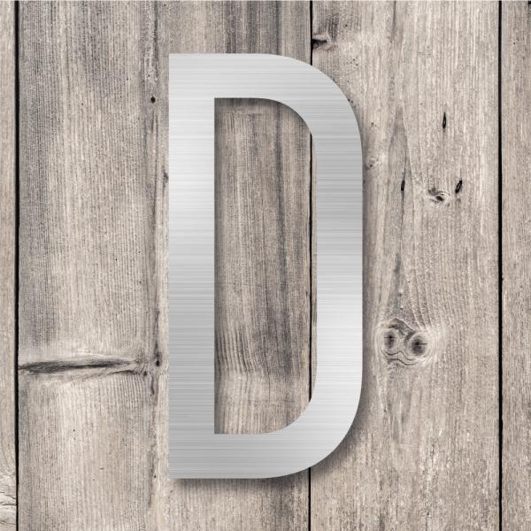 Husnummer bokstaver | Aluminium