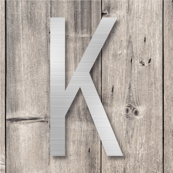 Husnummer bokstaver | AluminiumHusnummer bokstaver | Aluminium