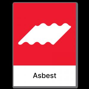 Avfallssortering Asbest