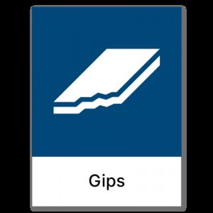 Avfallssortering Gips