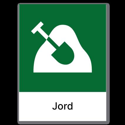 Avfallssortering Jord