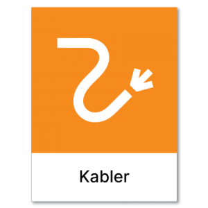 Avfallssortering Kabler
