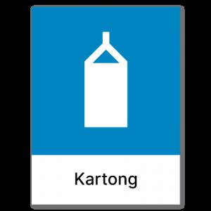 Avfallssortering Kartong