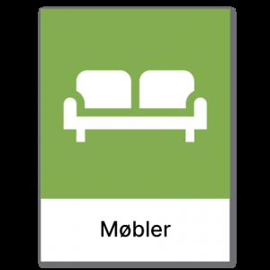 Avfallssortering Møbler