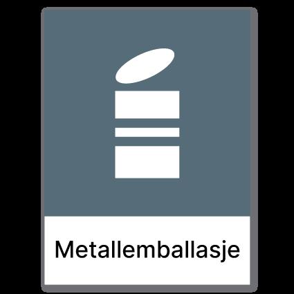 Avfallssortering Metallemballasje 2