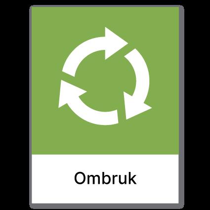 Avfallssortering Ombruk
