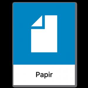 Avfallssortering Papir