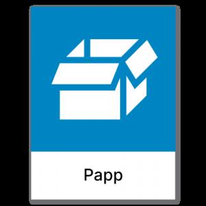 Avfallssortering Papp