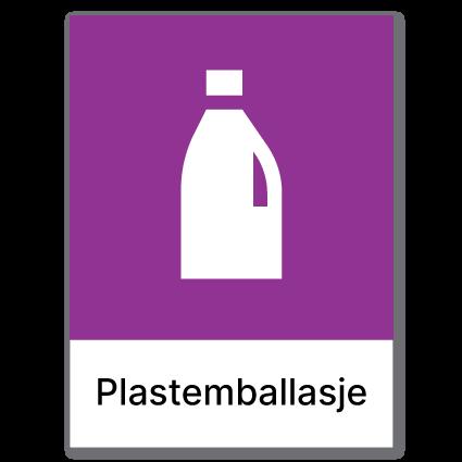 Avfallssortering Plastemballasje 1