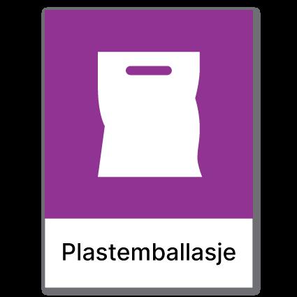 Avfallssortering Plastemballasje 2