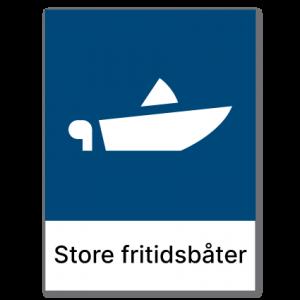 Avfallssortering Store fritidsbåter