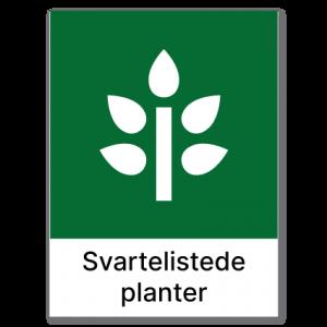 Avfallssortering Svartelistede planter