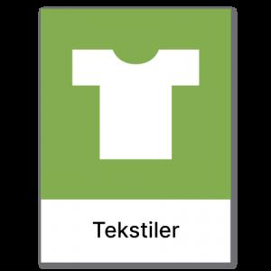 Avfallssortering Tekstiler