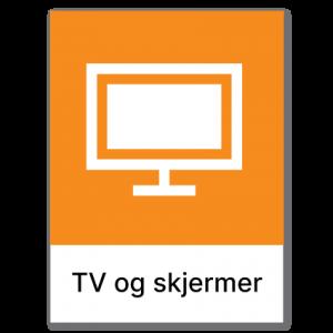 Avfallssortering TV og skjermer