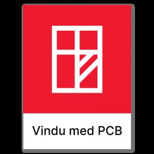 Avfallssortering Vindu med PCB