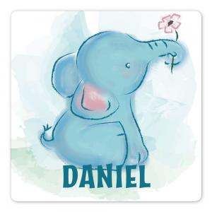 Dørskilt Elefant