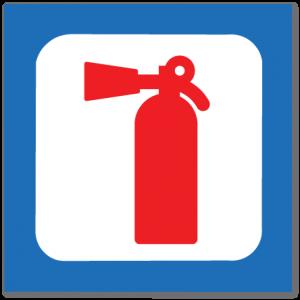 piktogram brannslukker