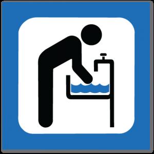 piktogram håndvask