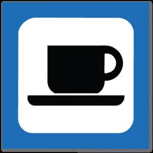 piktogram kafeteria